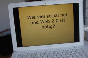 Fortbildungen für Journalisten - beispielsweise zum Thema Social Media - sind beliebt.