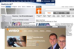 Medien mit dem Fokus auf Verbraucherthemen