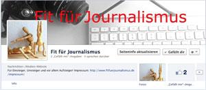 Ganz neu bei Facebook: Fit für Journalismus