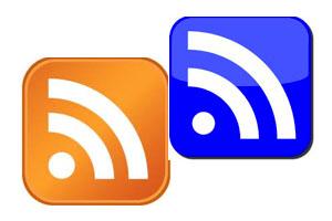 Die Zeichen für RSS-Feeds