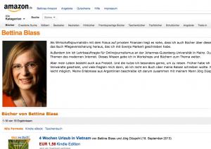 Screenshot Amazon Autorenzentrale