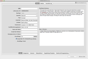 Screenshot iTunesConnect