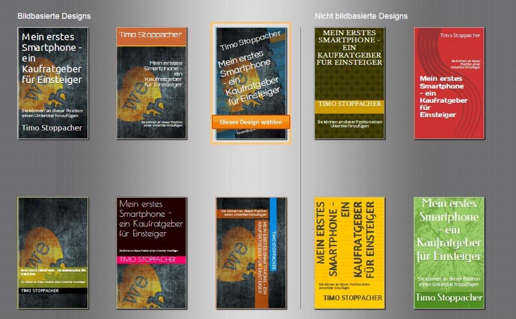 Der Cover Creator gestaltet 08/15-Cover, die wirklich nur im absoluten Notfall genutzt werden sollten.