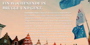 Storyteller Brügge und Gent