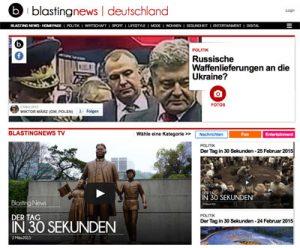 Screenshot Blasting News