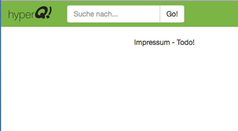 Screenshot Impressum