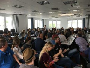Gut 100 Teilnehmer beim #djvcamp16