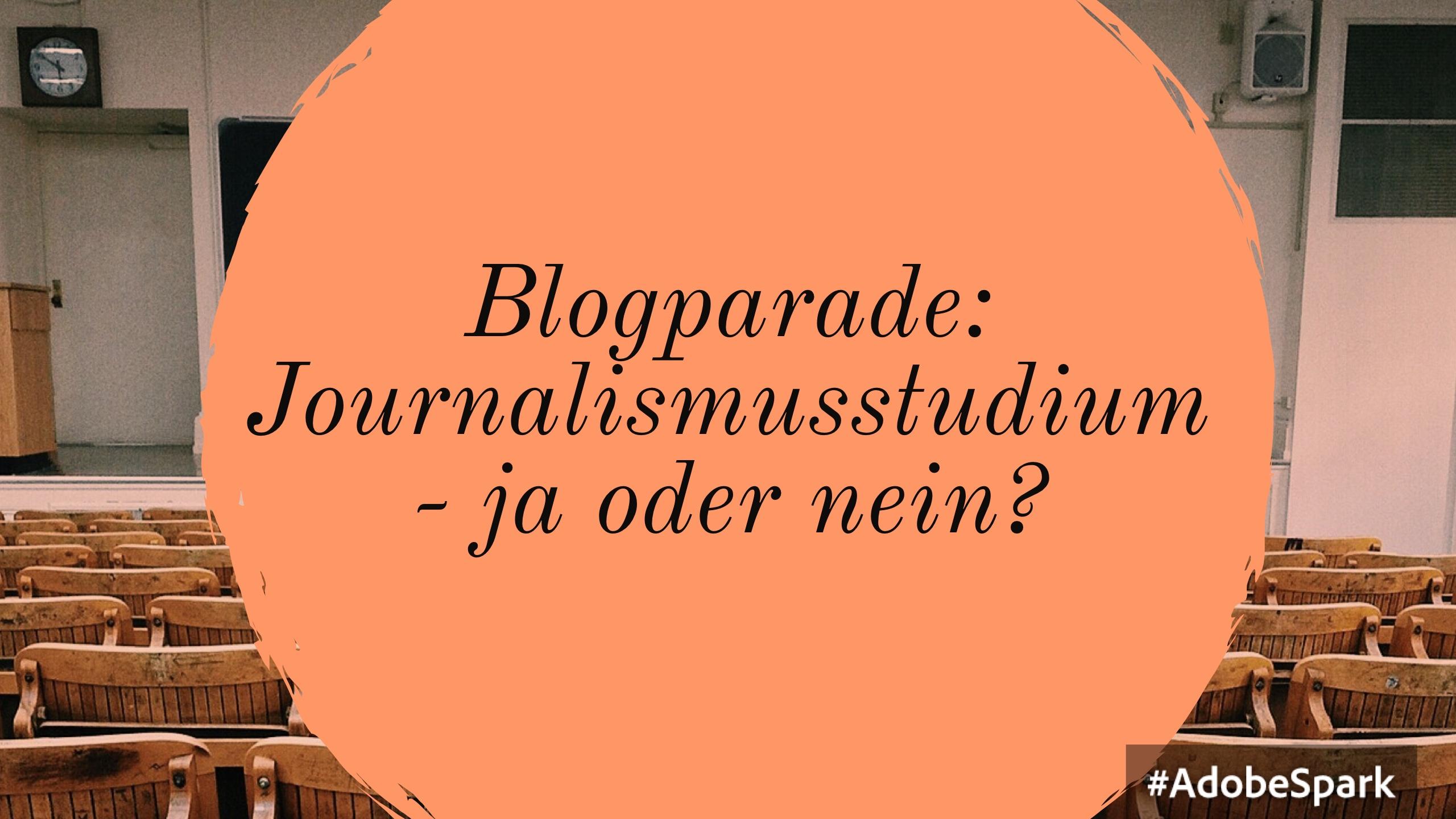 Ja zum Journalismusstudium