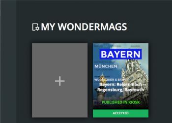 Wondermag hinzufügen