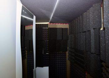 Sprecherkabine innen