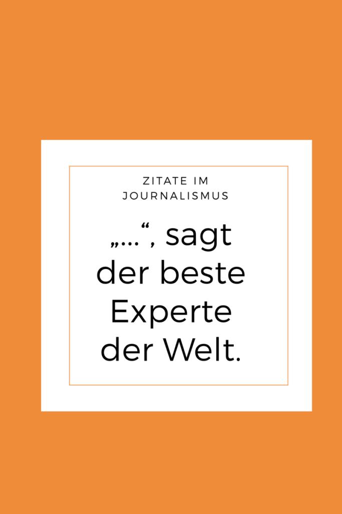 Woher kommen eigentlich die Zitate im Journalismus?